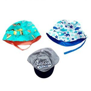 Lot of Boys Summer Hats size 12 - 24 months